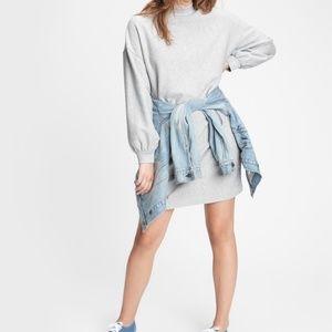 NWT Gap Lurex Crewneck Sweatshirt Dress